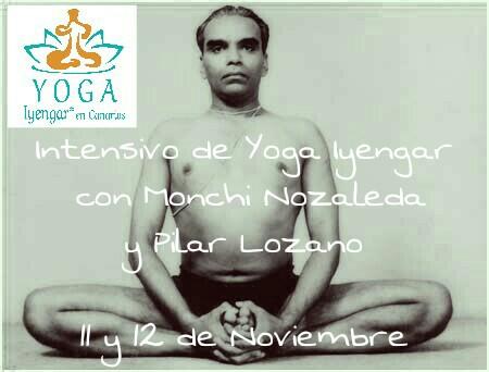 Intensivo de Yoga Iyengar con Monchi Nozaleda y Pilar Lozano