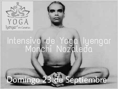 Intensivo de Yoga Iyengar con Monchi Nozaleda