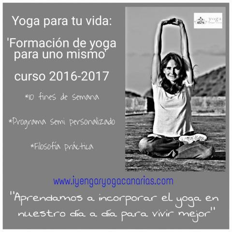 YOGA PARA TU VIDA: Formación de Yoga para uno mismo