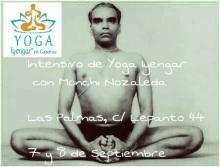 Intensivo de Yoga Iyengar con Monchi Nozaleda - septiembre 2017